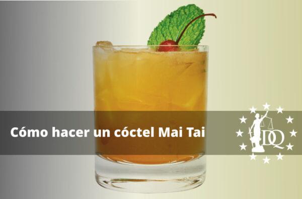Receta de Mai Tai Cómo hacer un cóctel Mai Tai