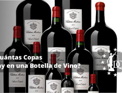¿Cuántas Copas Hay en una Botella de Vino?   Estudiar Hostelería Online
