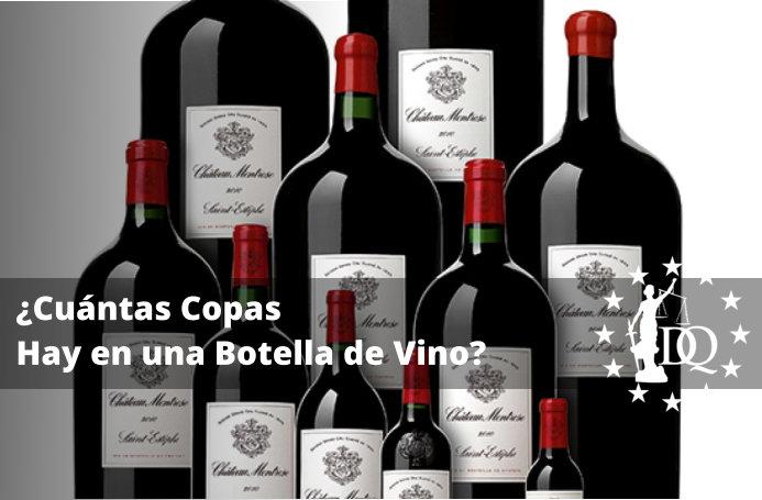 Cuántas Copas Hay en una Botella de Vino